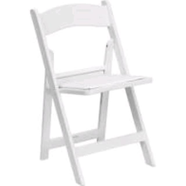 Where to find CHAIR, WHITE GARDEN in Tampa