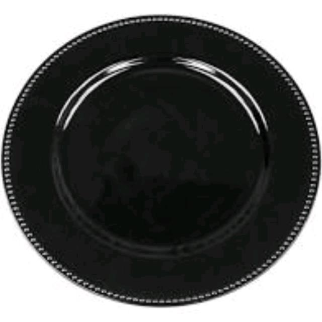 Where to find PLATE, 13  CHARGER BLACK in Tampa