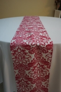 Rental store for RUNNER FUSCHIA DAMASK in Tampa FL