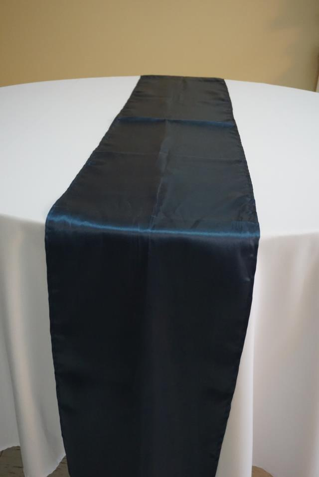 Where to find NAVY BLUE SATIN RUNNER in Tampa