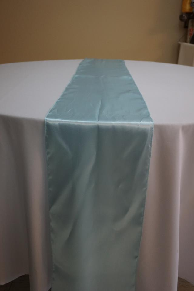 Where to find BABY BLUE SATIN RUNNER in Tampa