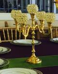 Rental store for 16  GOLD CANDELABRA in Tampa FL