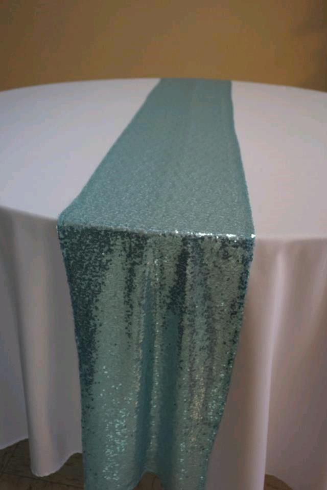 Where to find RUNNER TIFFANY BLUE SEQUIN in Tampa