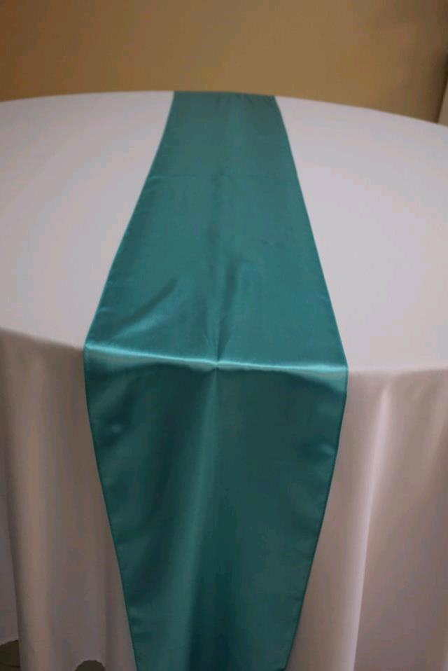 Where to find RUNNER TIFFANY BLUE SATIN in Tampa