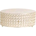 Rental store for CAKE STAND, CRYSTAL GOLD 14  ROUND in Tampa FL