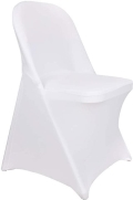 Rental store for SPANDEX WHITE CHAIR COVER in Tampa FL