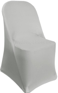 Rental store for SPANDEX SILVER CHAIR COVER in Tampa FL