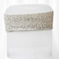 Rental store for CHAIR BAND SILVER SEQUIN in Tampa FL